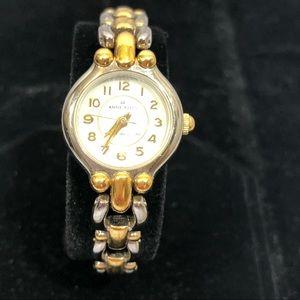 Anne Klein 2 Tone Link Watch
